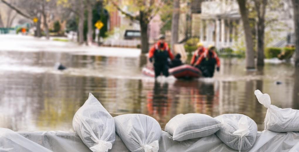 Finding alternative accommodation following a flood